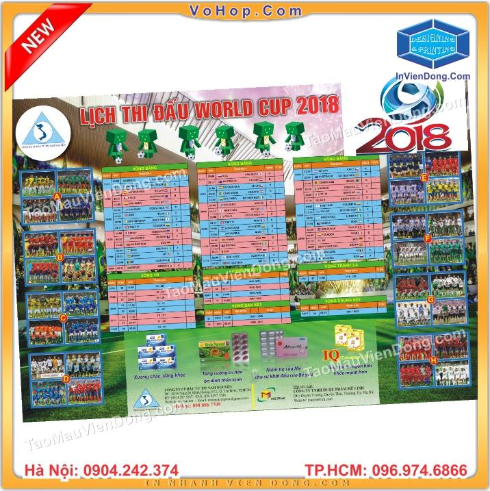 In vỏ hộp lấy ngay | In vo hop lay ngay | Đại chỉ in lịch thi word cup 2018